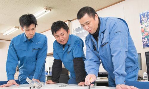イトウ鋼材加工株式会社 試作開発の流れ 写真2