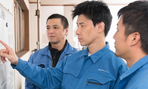イトウ鋼材加工株式会社 試作開発の流れ 写真3