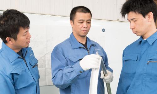 イトウ鋼材加工株式会社 試作開発の流れ 写真5