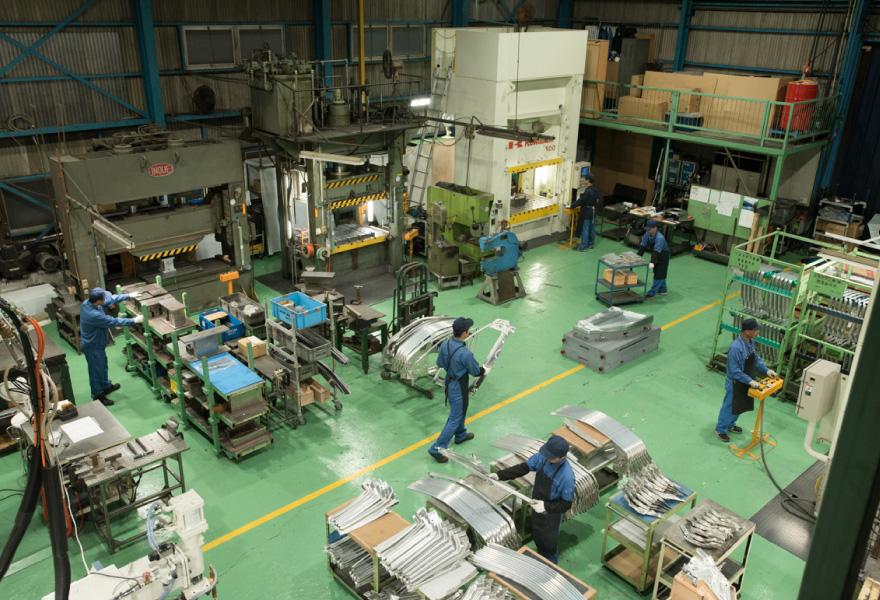 イトウ鋼材加工株式会社 工場紹介 写真2